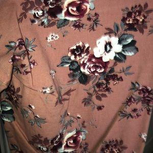 Tops - Los Angeles floral long sleeve